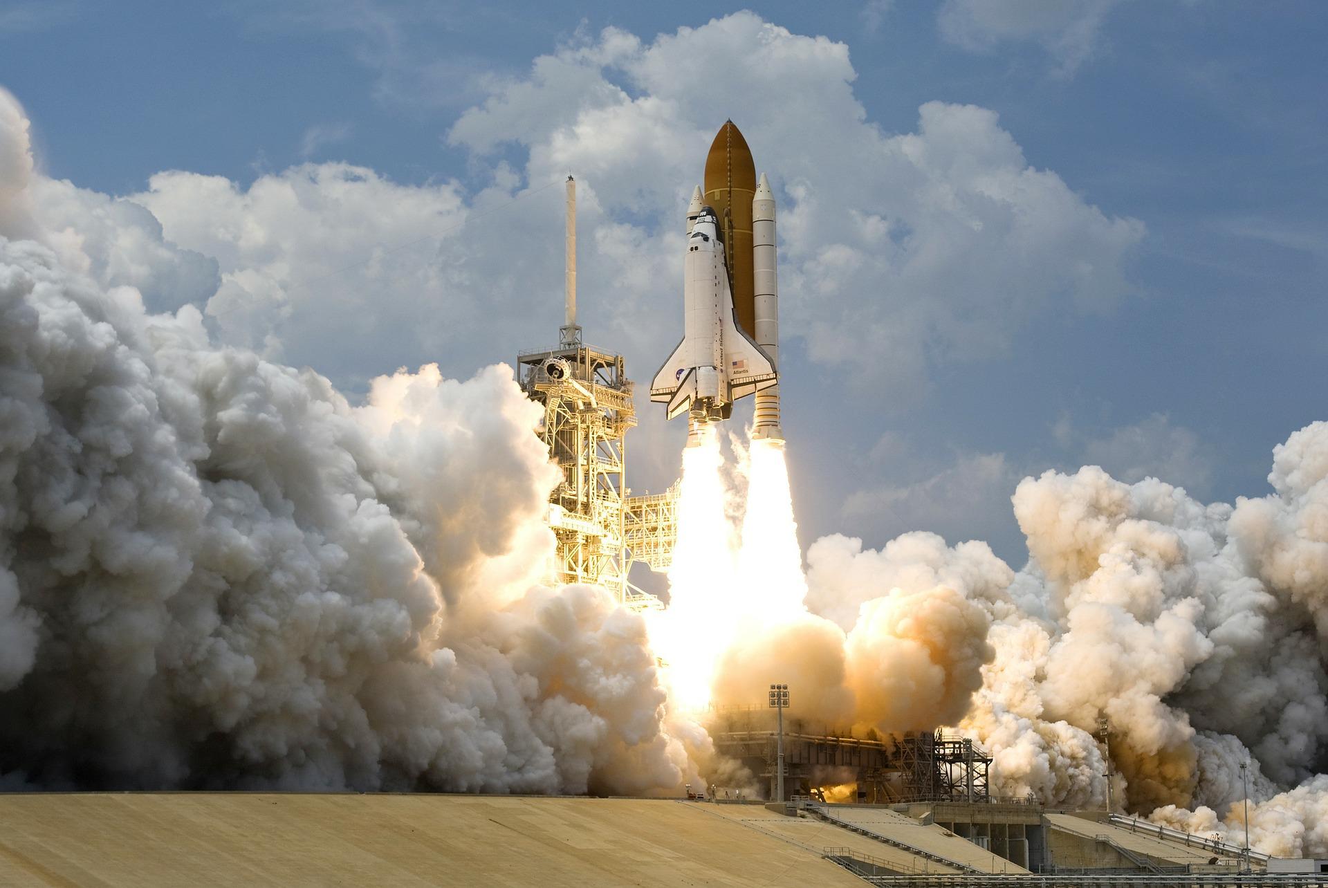 marketingová strategie je raketa do vesmíru