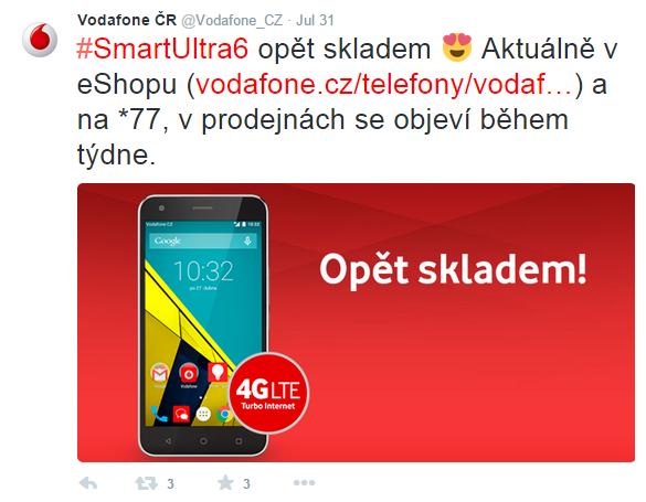 Vodafone na Twitteru
